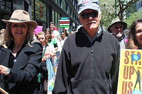 Ted Turner Marches in San Francisco