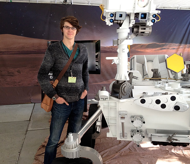 I did an internship at JPL