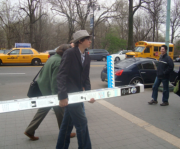 Installing the SLAP pole in NY