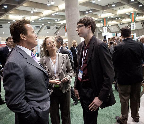 Former Gov. Arnold Schwarzenegger