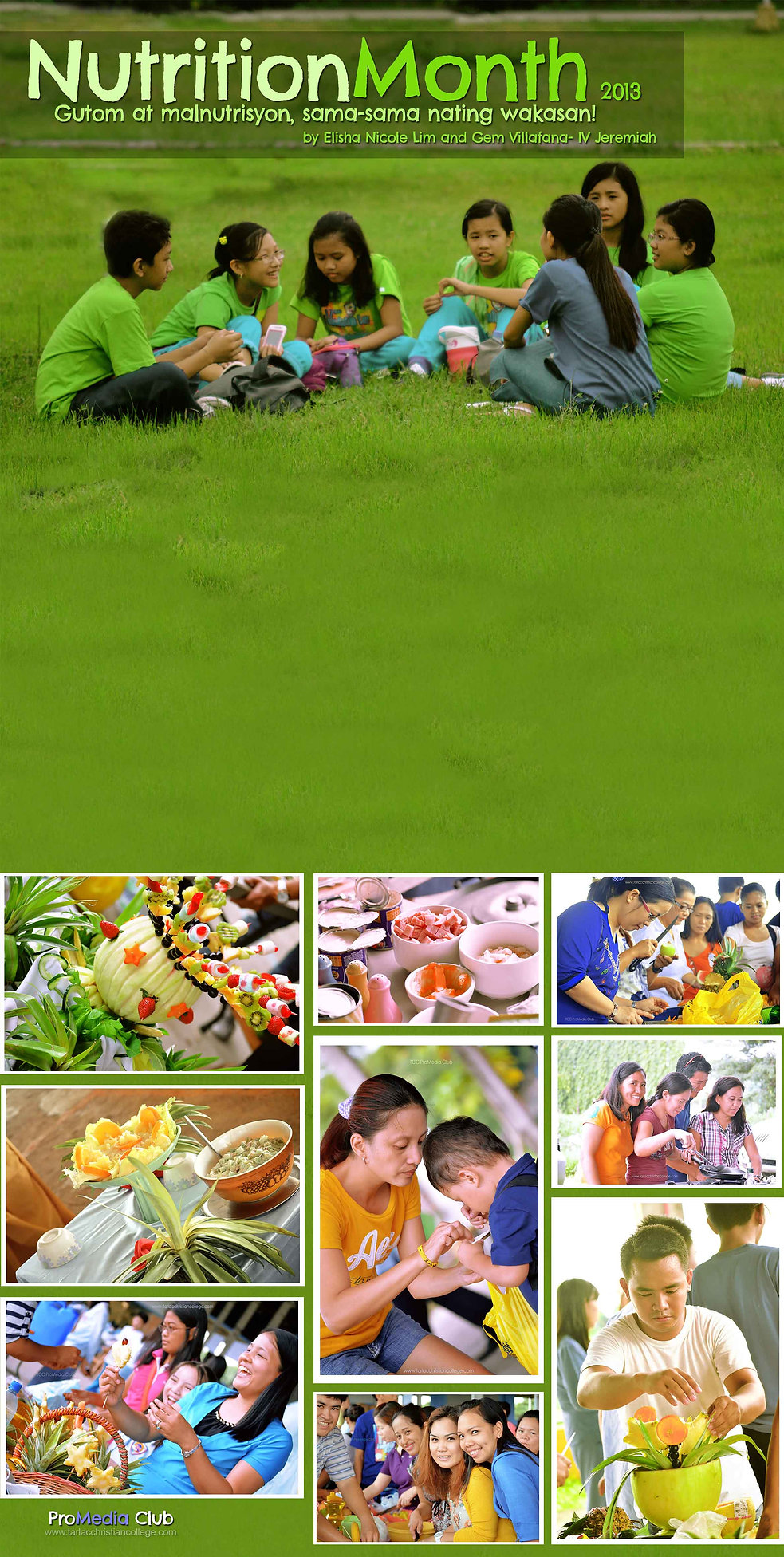 Nutrition month essay writing english 2013