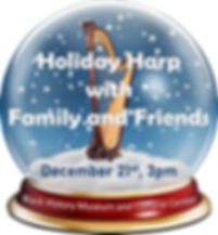 Holiday Harp with Fam and Friends 2019.j