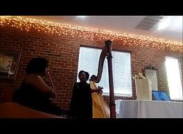 Greene Girls Duo, featuring Shelley Greene-Harp and Jaia Greene-Flute