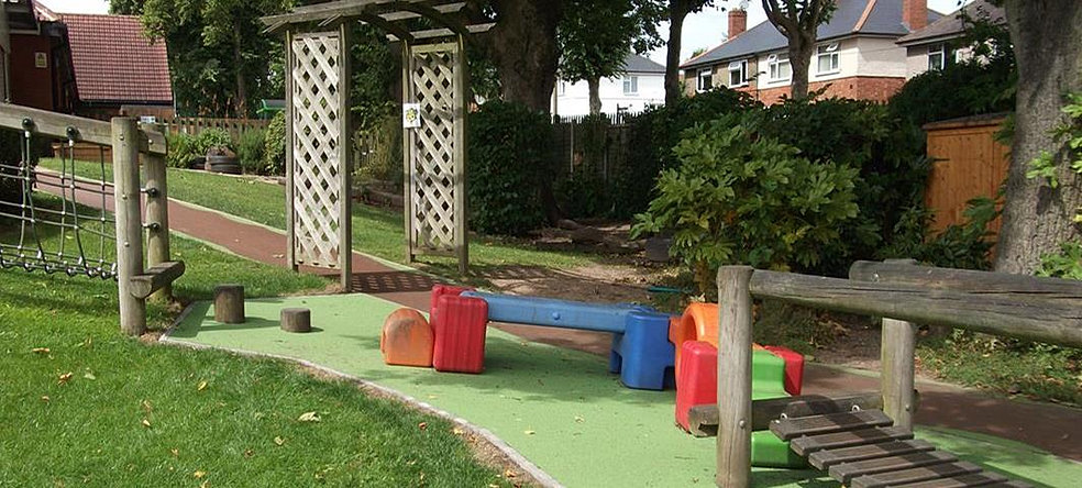 Landscape Garden Nuneaton : Stockingford early years centre and library