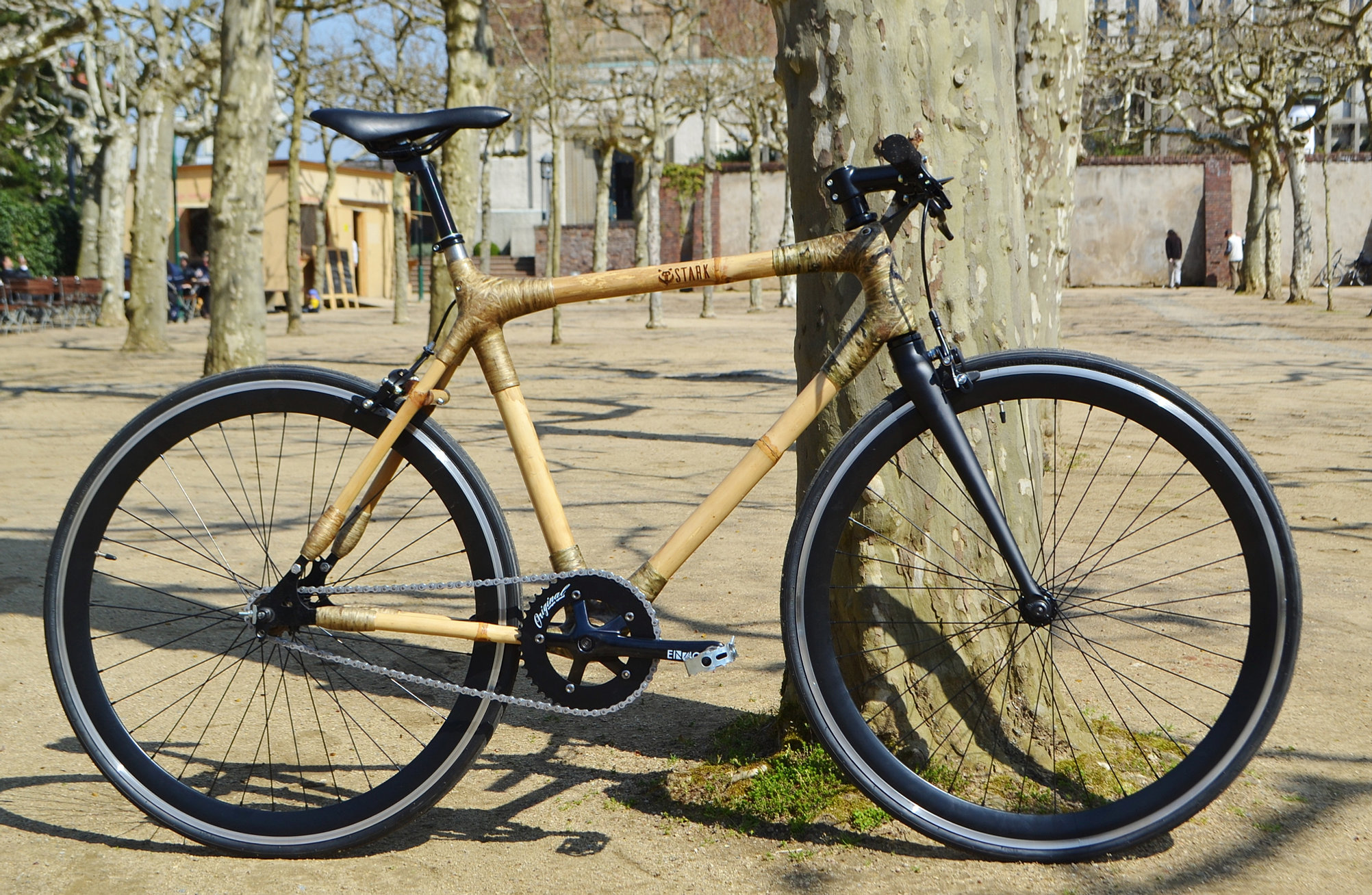 stark bamboo bike bambus fahrrad. Black Bedroom Furniture Sets. Home Design Ideas