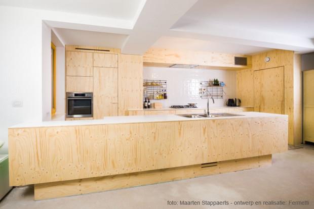 Keuken Wandkast Maken : knappe keukens in multiplex bio & ecowonen