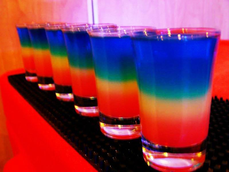 Best Mixed Drinks Shots