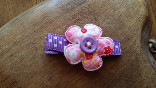 Small flower clip boho clips crafts girls hair clips for Small alligator clips for crafts