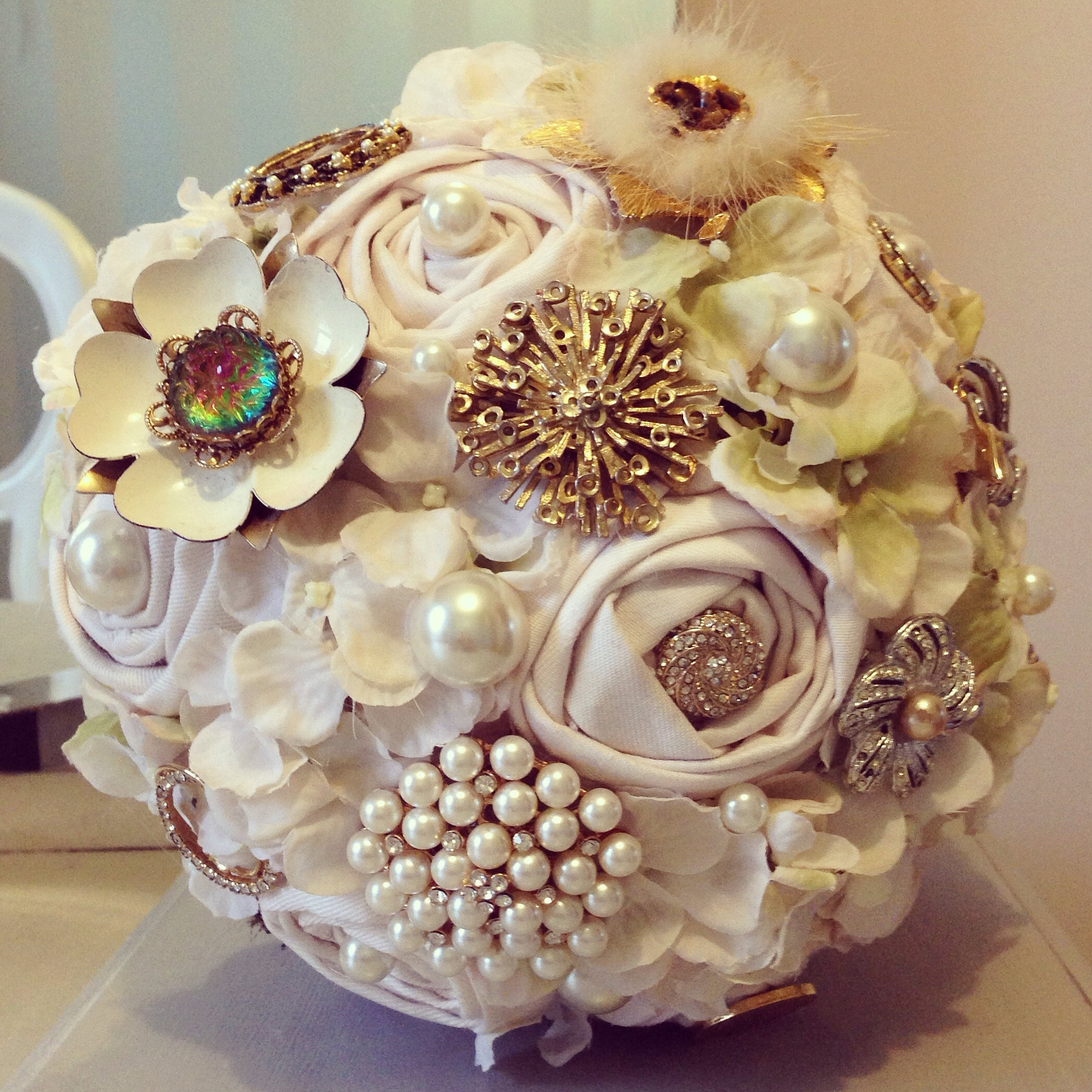 Love Is Vintage Bouquets Bespoke Brooch Bouquets And
