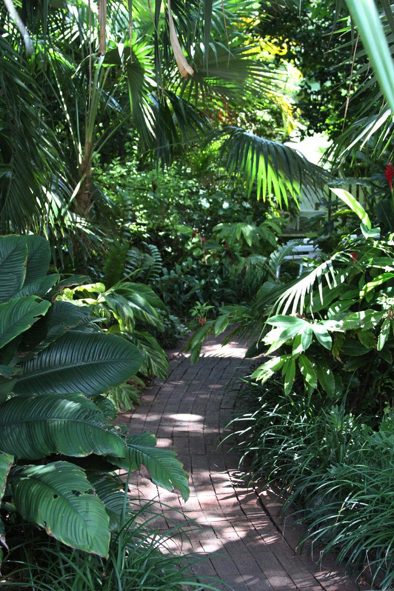 Duval House Garden Path
