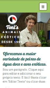 Loja de Animais Exóticos