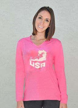 Women's USA U-Neck Hoodie Pink.jpg