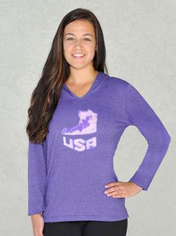 Women's USA U-Neck Hoodie Purple.jpg