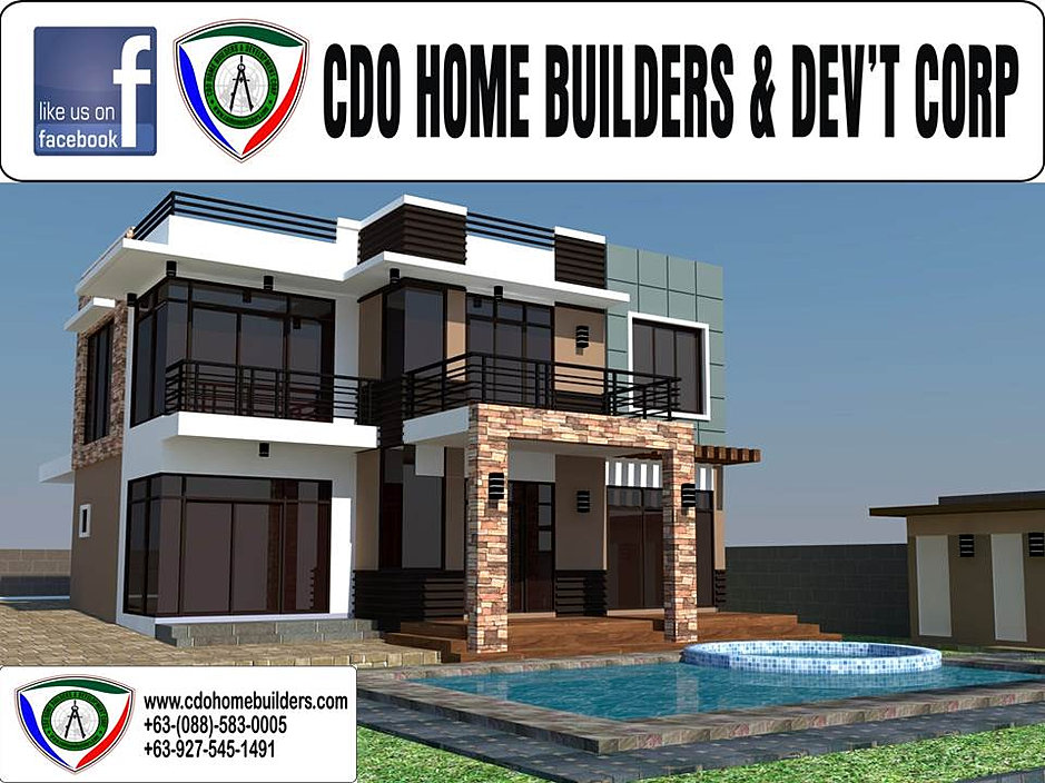 Cdo builders home for Modern zen house design with roof deck