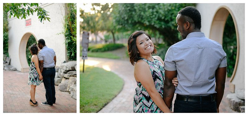 Engagement Session at The Pagoda Gardens in Norfolk Virginia Wedding and Portrait Photographer in Virginia
