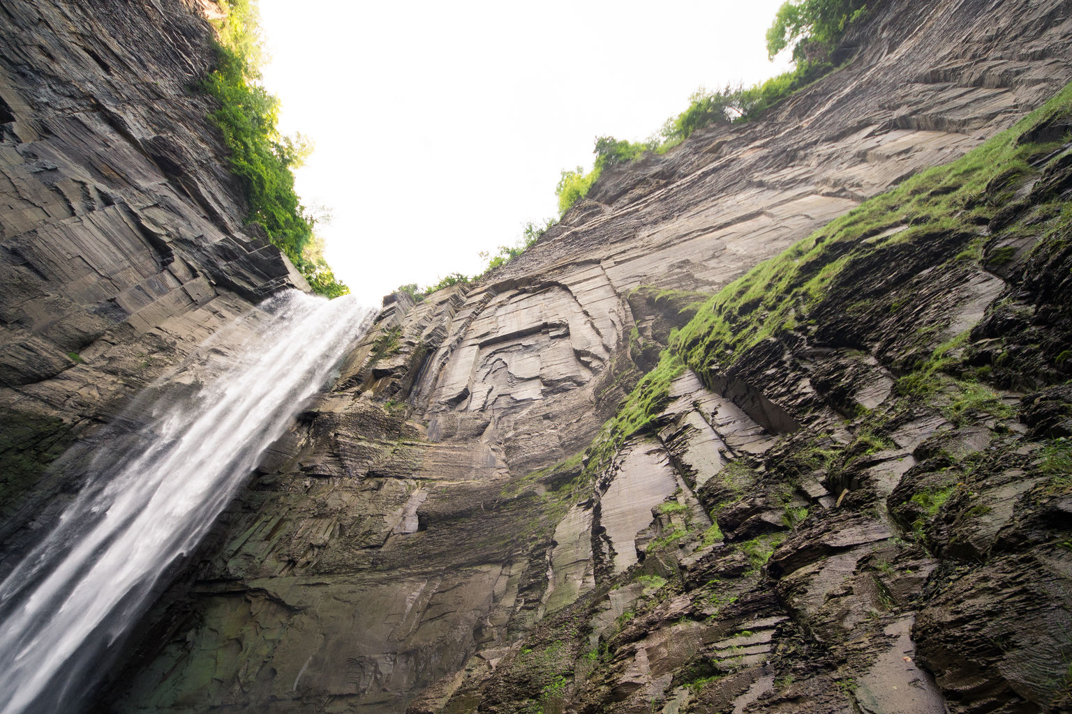 Taughannock Falls Waterfall & State Park Ulysses, NY Landscape Photos