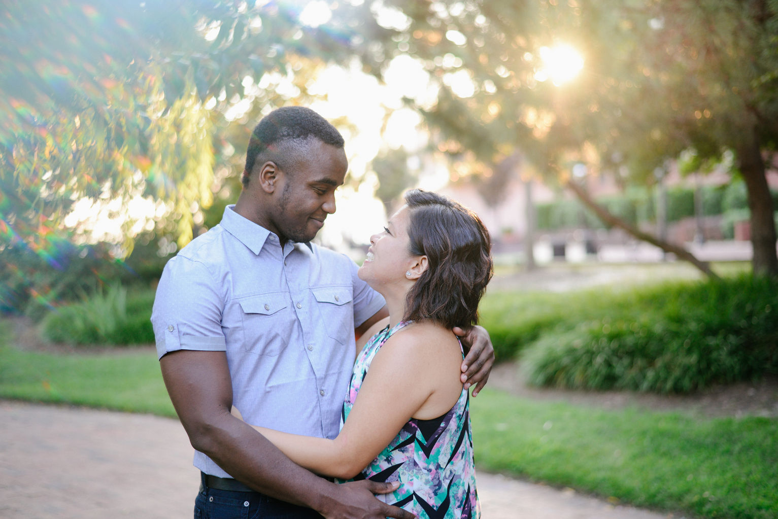 Engagement Session at The Pagoda Gardens in Norfolk Virginia Wedding and Portrait Photographer in Virginia Prism Photography