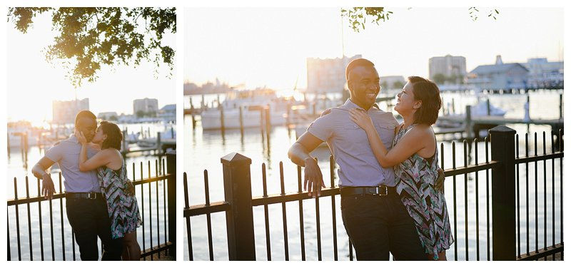 Engagement Session in Norfolk Virginia Wedding and Portrait Photographer in Virginia