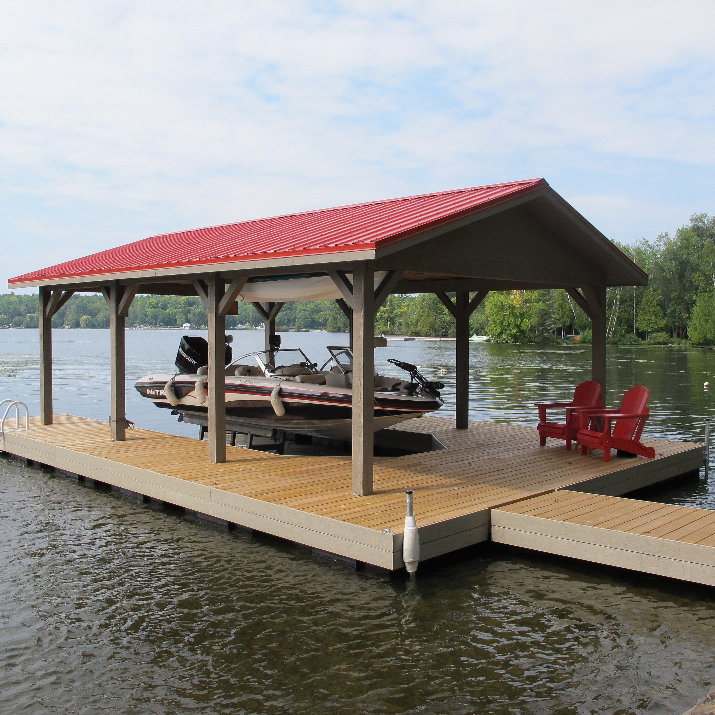 Floathouse floating boathouse | Floating boathouse, Floathouse