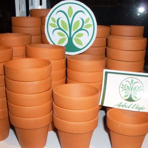 macetas macetitas barro numero pack xu cactus souvenirs