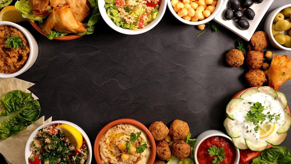 Bild von homemade oriental food