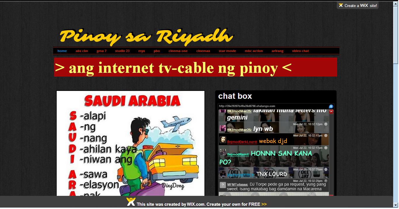 Pinoy chat box