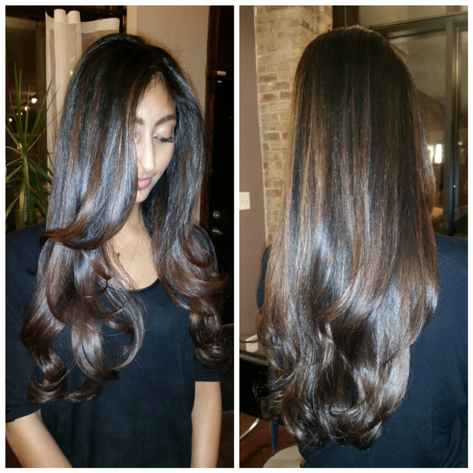 Brown Ombre Highlights For Black Hair Balayage Vs Which Is The Best You Actually Don T Have To Choose Just One Of Them