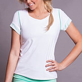 Calypso Cap Sleeve Top
