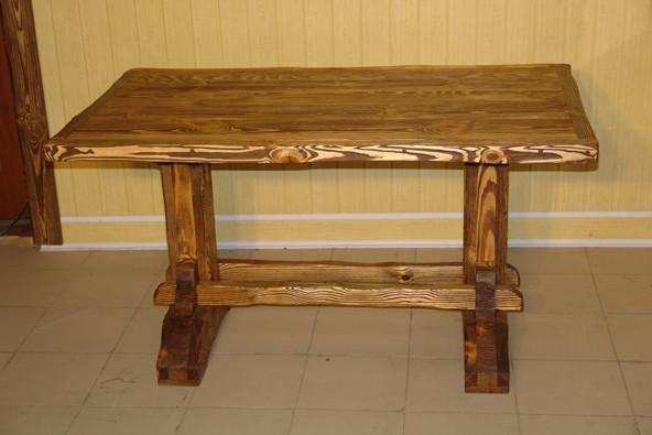 Деревянные столы под старину своими руками 79
