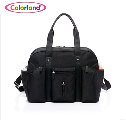 colorland baby diaper bag black clb 003. Black Bedroom Furniture Sets. Home Design Ideas