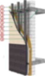 Ronson 100 - KMEW fiber cement ventilated facade