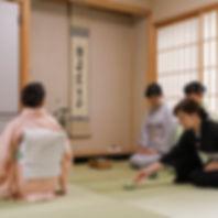 富部神社, 茶室, 月釜会
