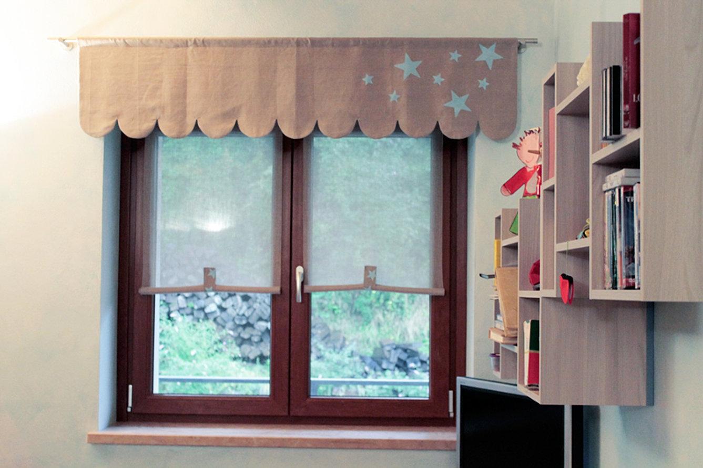 Tende a vetro cameretta idee per la casa for Idee tende a vetro
