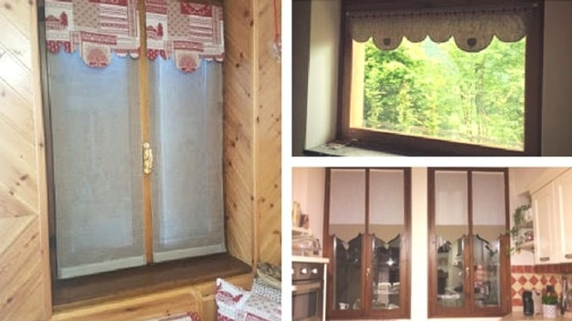 Best Cucine In Muratura Con Tendine Images - Home Design Ideas ...