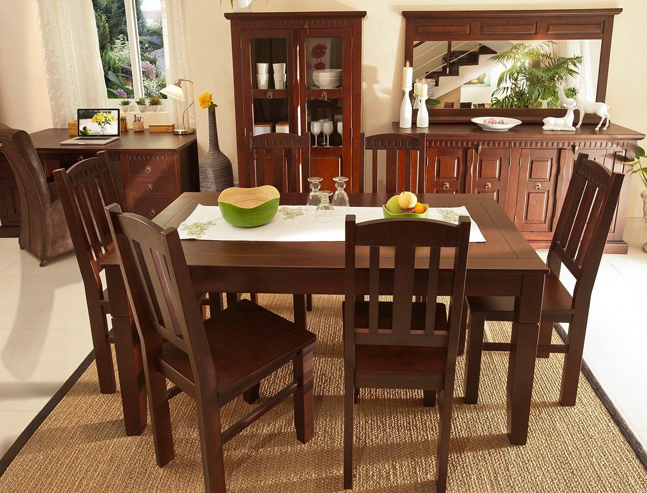 wohnzimmer kolonialstil möbel:Oak 951324 Oak Oak Dining Table Chairs ...