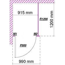 cabine sanitaire stratifié compact standard CABSAN FRANCE