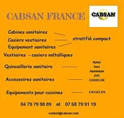 Equipements pour collectivités-CABSAN FRANCE