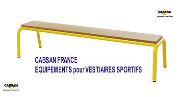 équipements vestiaires sportifs-CABSAN F