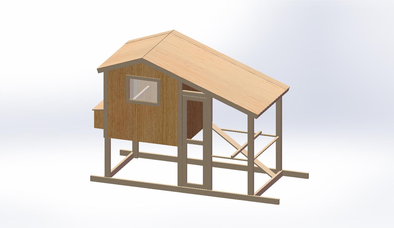 Hens Plans 5 X 6 Chicken Coop Plans
