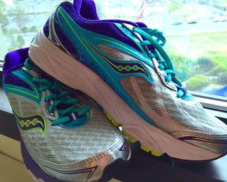 Saucony running shoes marathon training