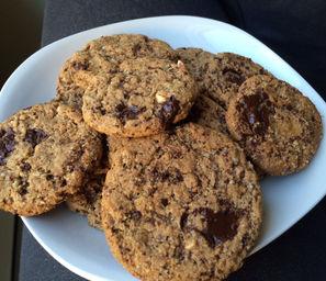 crunchy vegan gluten free cookies