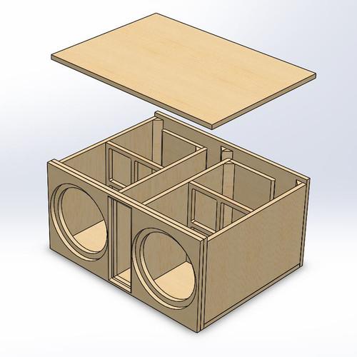 Custom box blueprint designs 2nsc slot port sciox Images