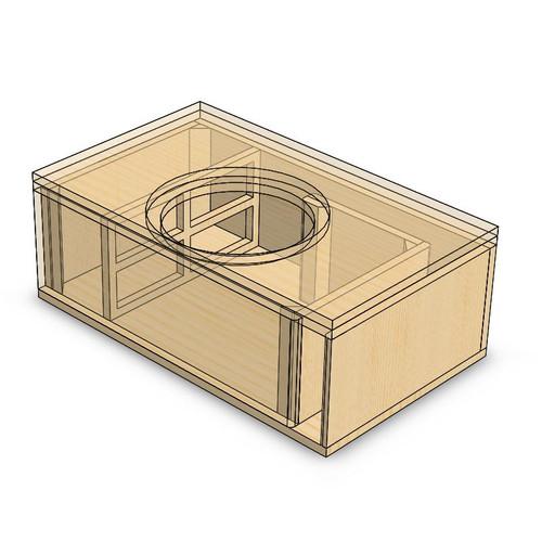 Custom box blueprint designs 1nst slot port sub up publicscrutiny Choice Image