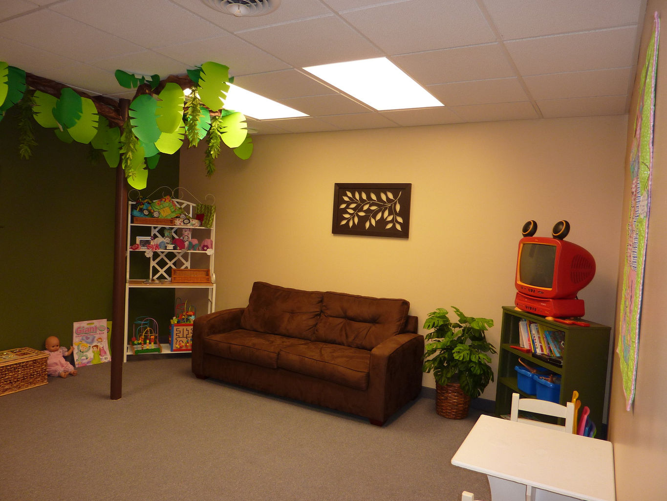 Kids and Family waiting room