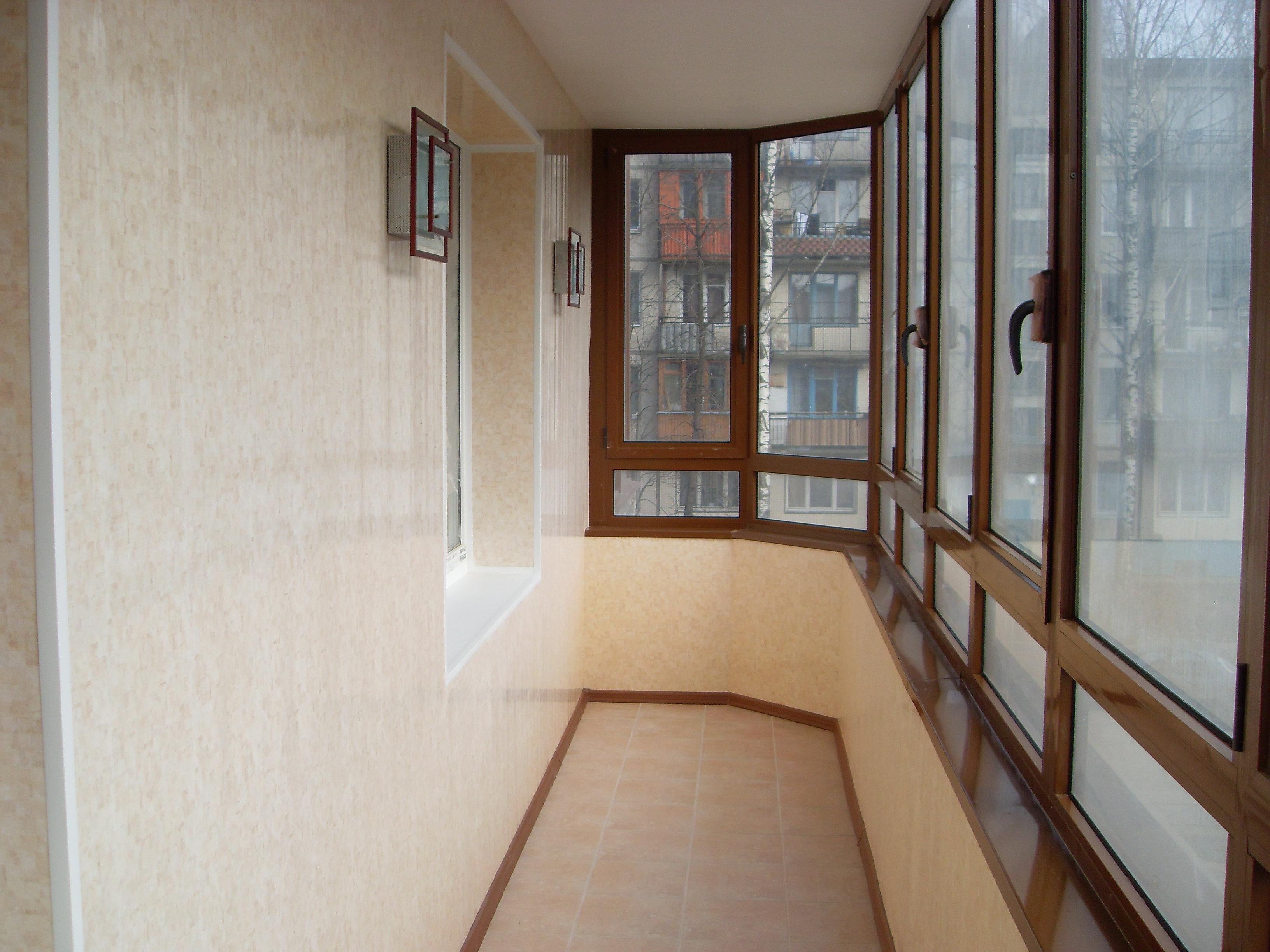 Отделка пвх панелями балконов и лоджий во владивостоке.