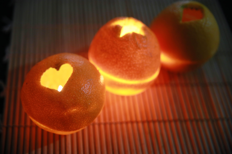 Как сделать свечку с апельсином