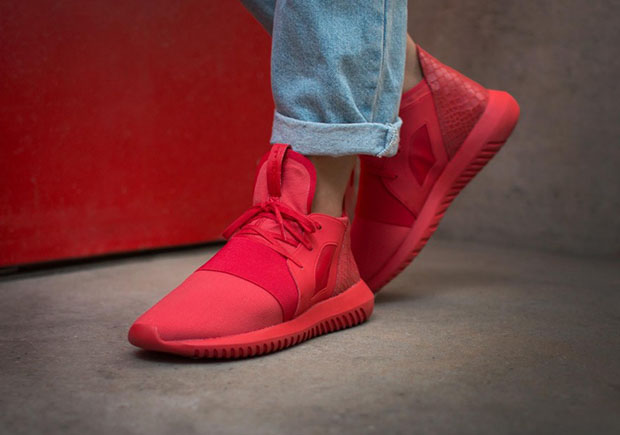 ADIDAS TUBULAR INVADER STRAP SESAME / RED adidas Loaded
