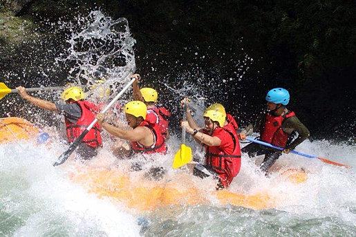 Sei Bahbolon rafting