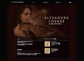 クラシックミュージック Template - 交響楽団やクラシック演奏者に最適なエレガントなデザインのテンプレートです。プロフィール、イベント情報、演奏動画など、コンテンツを自由に組み合わせて素敵なハーモニーを奏でましょう。