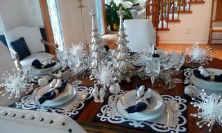 5 Elegant Christmas Tablescape Ideas | AC Design U0026 Development   Bronx  Interior Designers | Bronx NY | Home